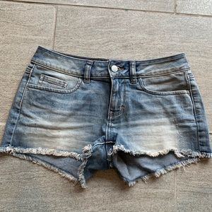 NWOT PINK Denim Shorts